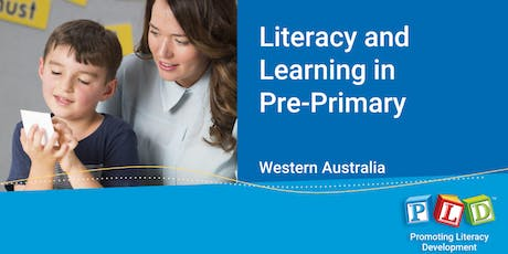 Literacy and Learning in Pre-Primary October 2019 tickets