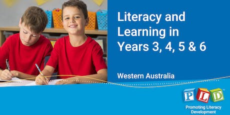 Literacy and Learning in Years 3 to 6 October 2019 tickets