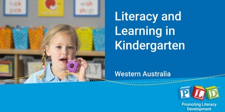 Literacy and Learning in Kindergarten November 2019 tickets