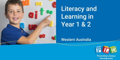 Literacy and Learning in Year 1 & 2 November 2019 tickets