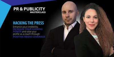 PR and Publicity Masterclass
