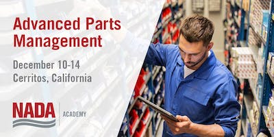 Advanced Parts Management Seminar - December 2018