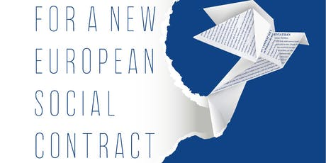 For a New European Social Contract tickets