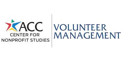 Certificate in Volunteer Management