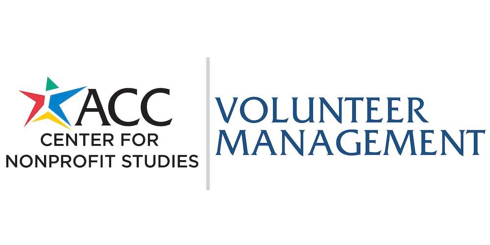 Certificate in Volunteer Management Tickets, Tue, Nov 5