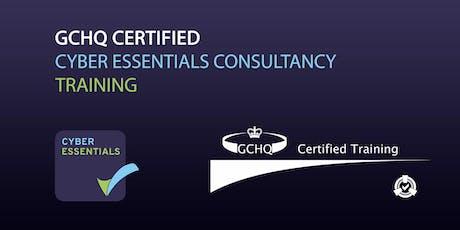 GCHQ Certified Cyber Essentials Consultancy Online Training tickets