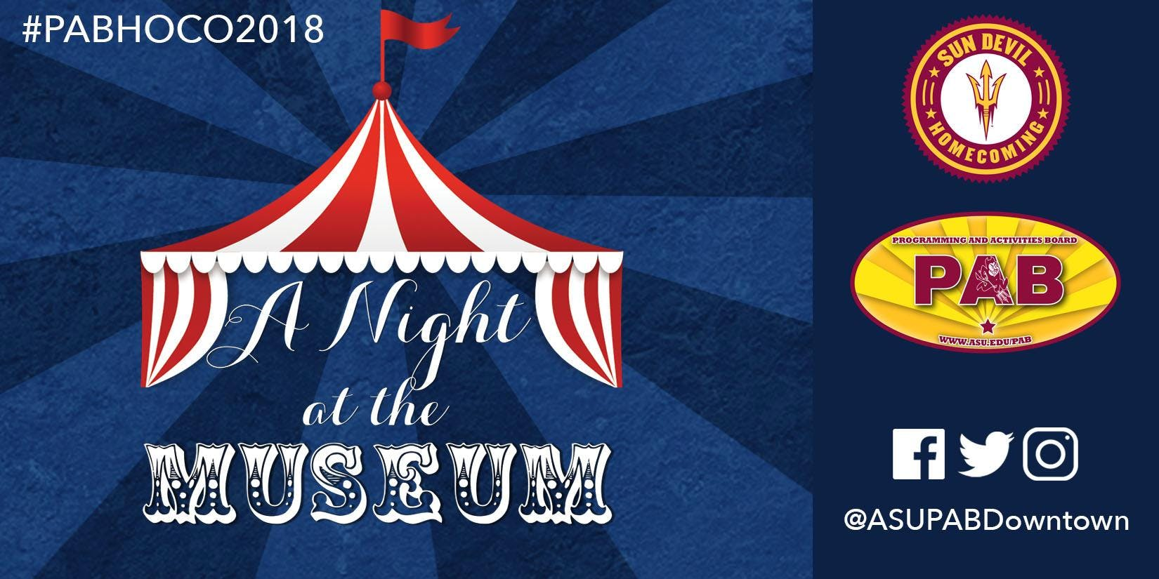 A Night at the Museum - ASU Homecoming Dance 2018