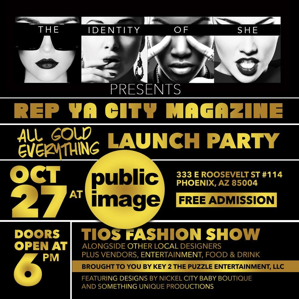 The Identity of She Presents: Rep Ya City Magazine Launch Party