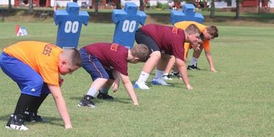 2019 Fork Union Football Camp with Strength and Speed Work