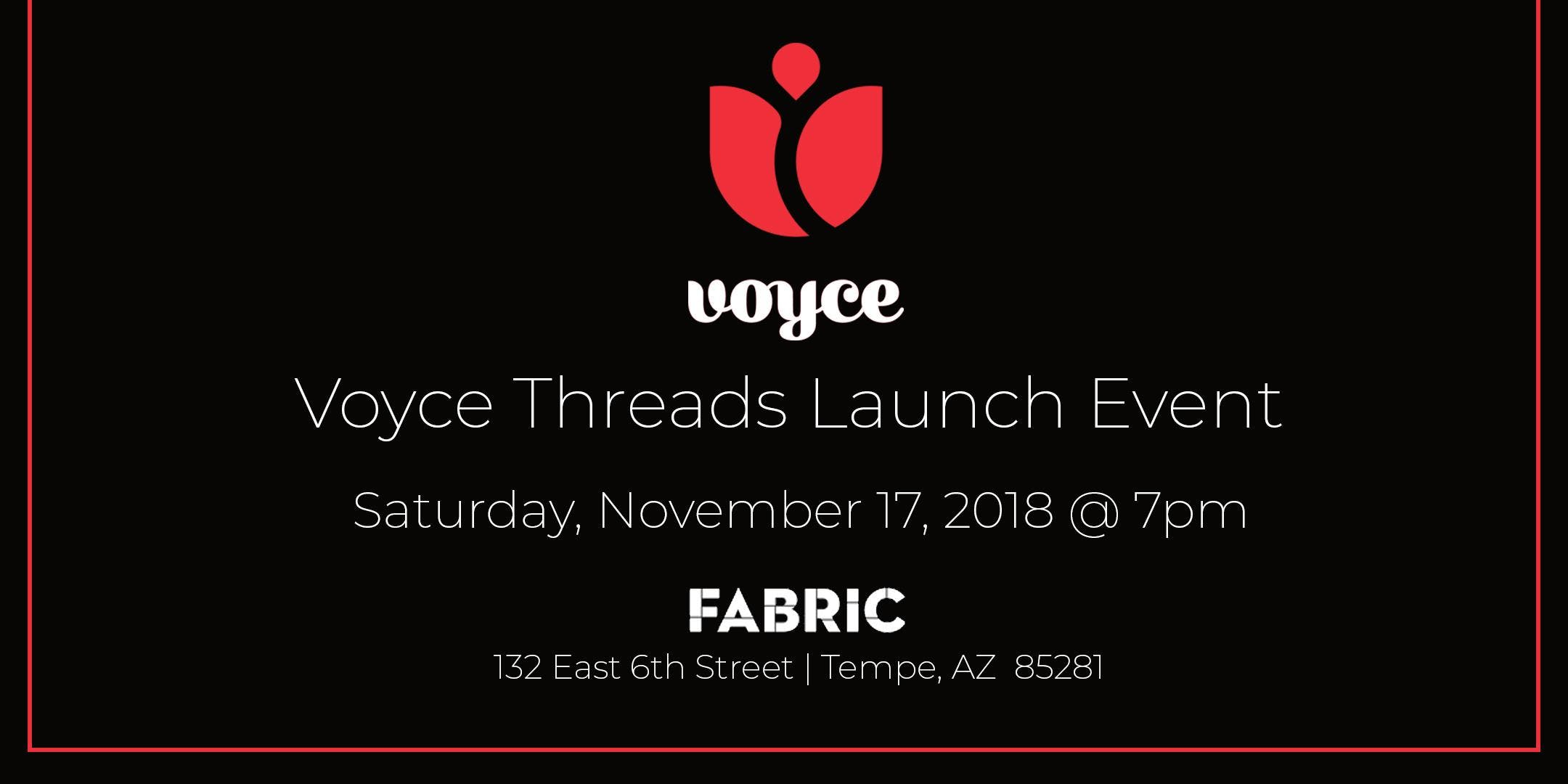 Voyce Threads Launch Event