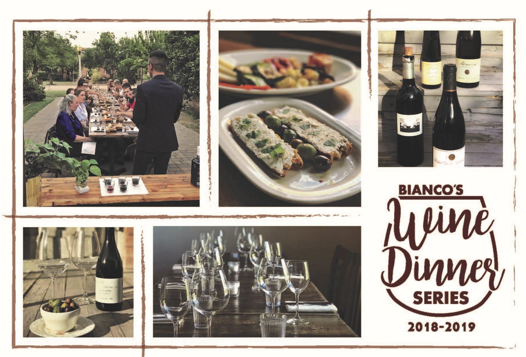 Bianco Wine Dinner Series  -      Matthiasson Wines