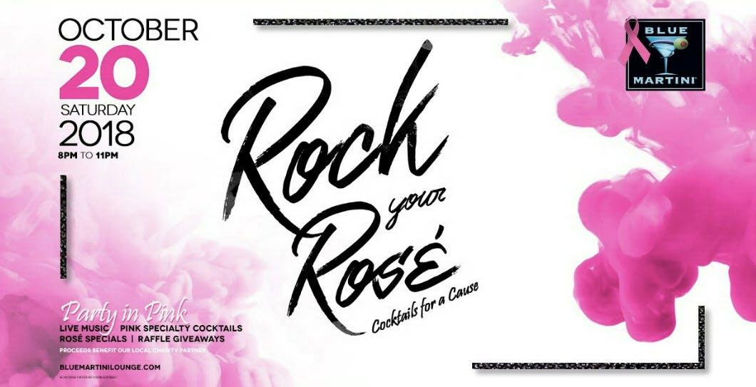 Rock Your Rosé! | Blue Martini Phoenix