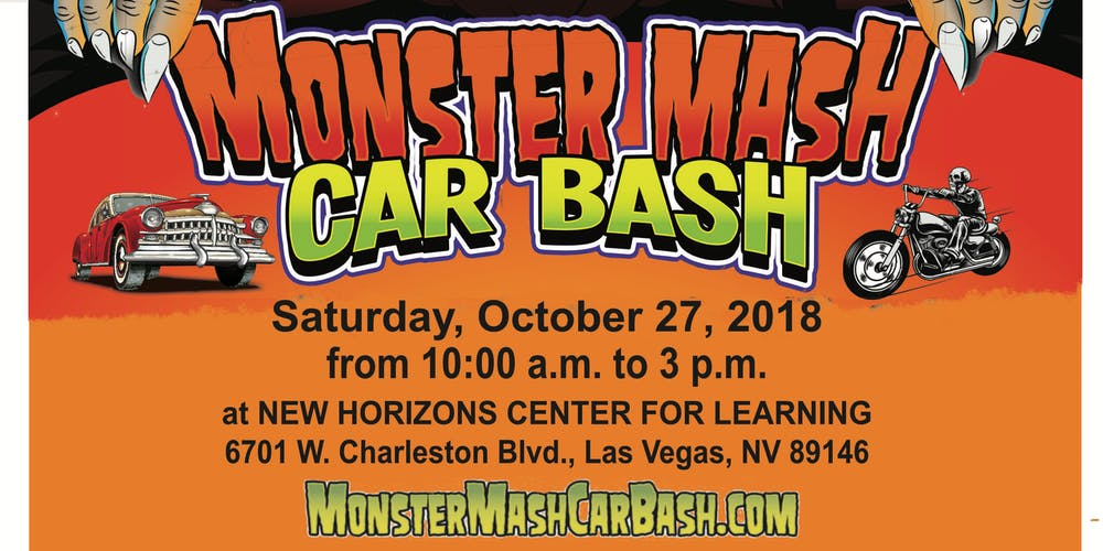 Monster Mash Car Bash Charity Car Show Trunk Or Treating Event - Charleston car show calendar