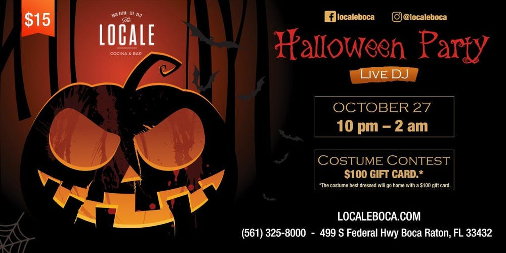 The Locale Halloween Party