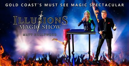 ILLUSIONS MAGIC SHOW tickets