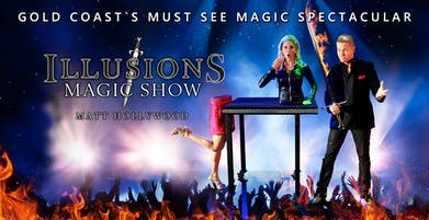 ILLUSIONS MAGIC SHOW