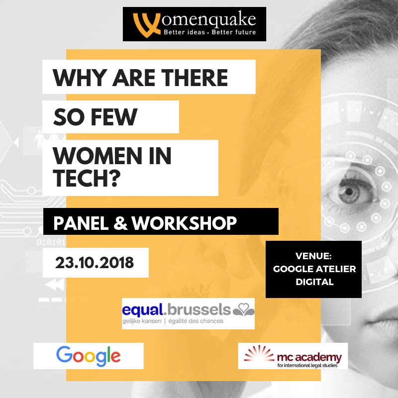 Why Are There so Few Women in Tech? Panel & Workshop