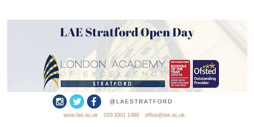 LAE Stratford Open Day 23 November 2019