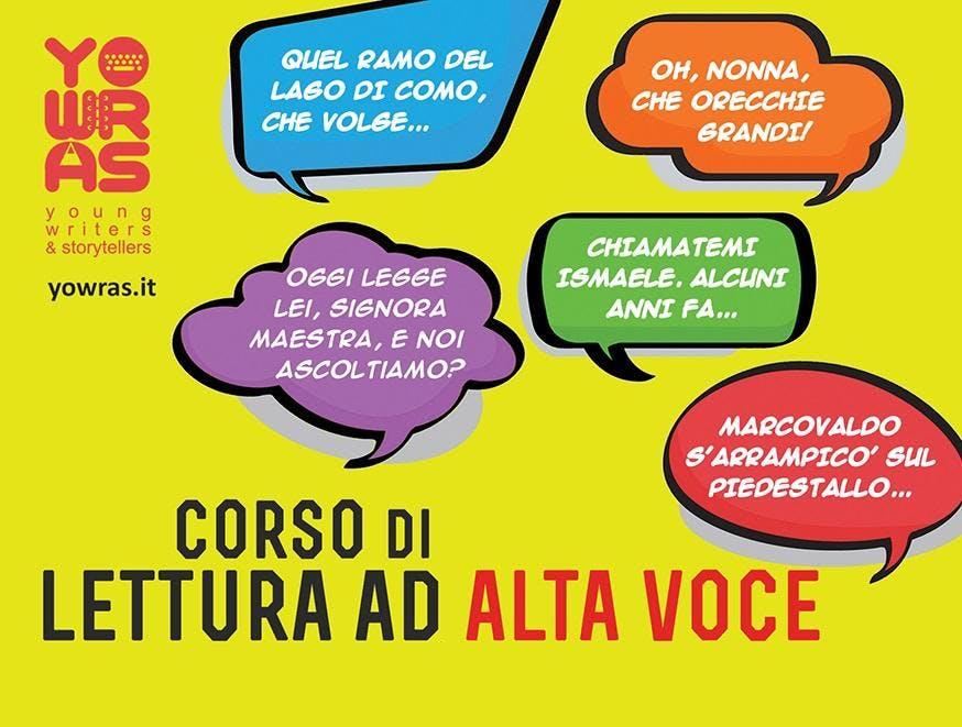 Corso di lettura ad alta voce - Torino - dive