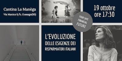 L'evoluzione delle esigenze dei risparmiatori italiani