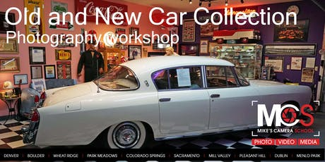 Old and New Car Collection Photography Workshop - Park Meadows tickets