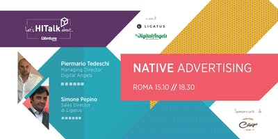 Let's HITalk about... Native Advertising