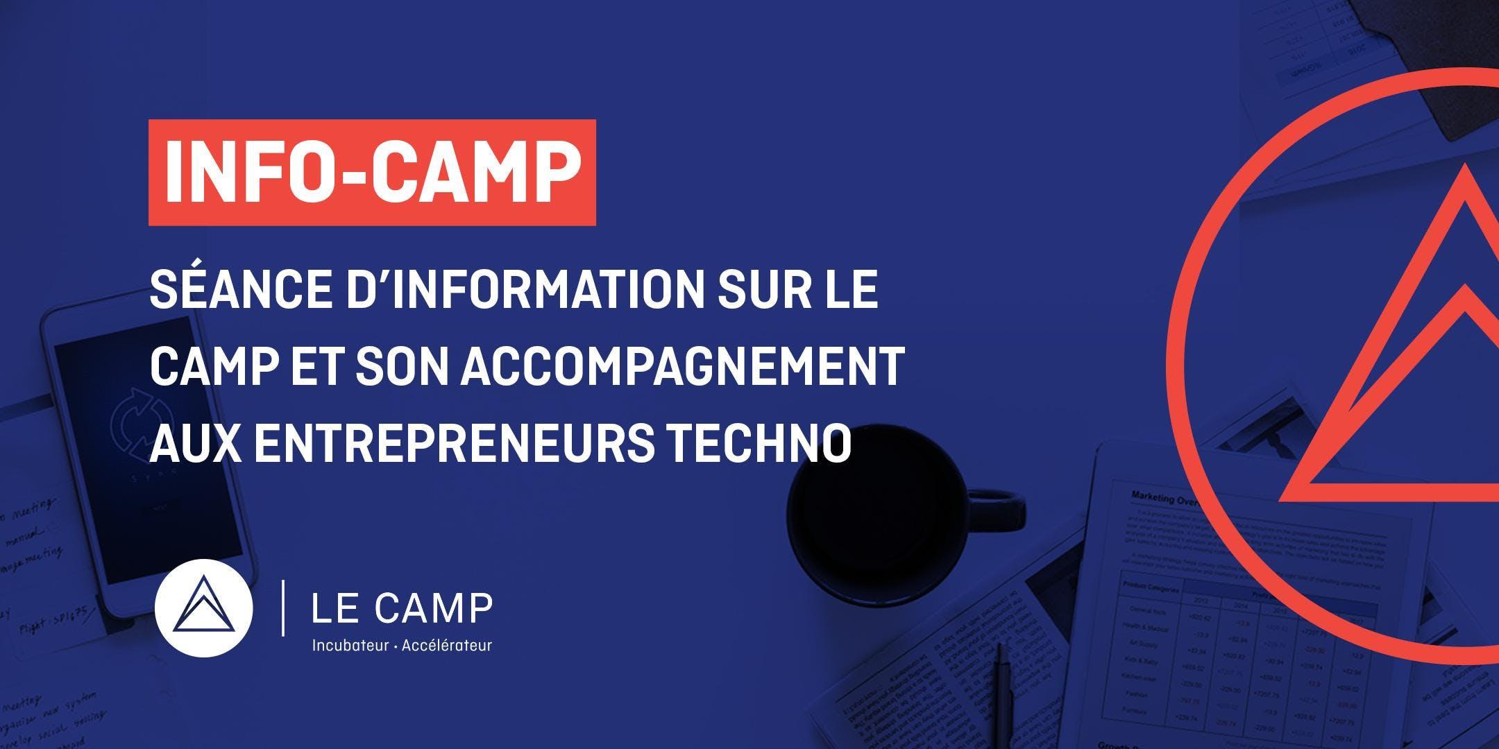INFO CAMP - Séance d'information sur LE CAMP