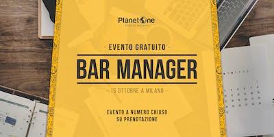 Evento Gratuito | Bar Manager