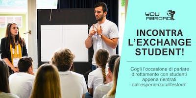 Incontra l'Exchange Student - Torino 30/10/2018