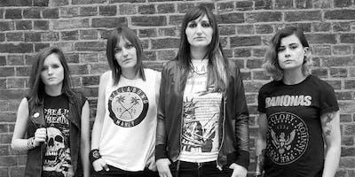 The Ramonas – UK´s All Girl Ramones Tribute/ Blofeld / Neon Bone