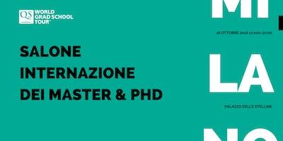 Salone internazionale dei Master e dei Dottorati - Milano 2018