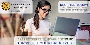 Arts Entrepreneurship Workshop: Thrive off your...