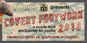 Puzzle Hunt for Youths: Covert Footwork 2018