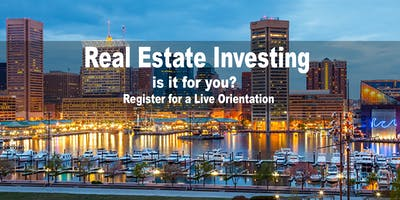 BALTIMORE REAL ESTATE INVESTING INTRODUCTION WEBINAR