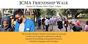 JCMA Friendship Walk - 21st October 2018