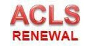 AHA ACLS Renewal ($120) $60.00 Seat Hold