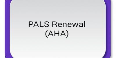 AHA PALS Renewal ($115) $57.50 Seat Hold