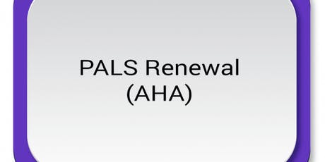 AHA PALS Renewal ($120) $60.00 Seat Hold tickets