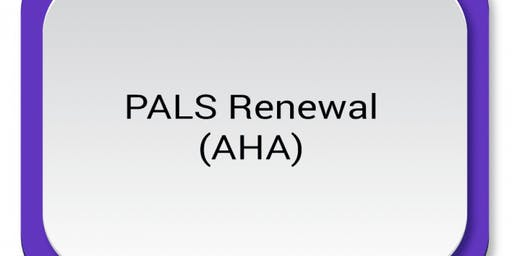 AHA PALS Renewal ($120) $60.00 Seat Hold
