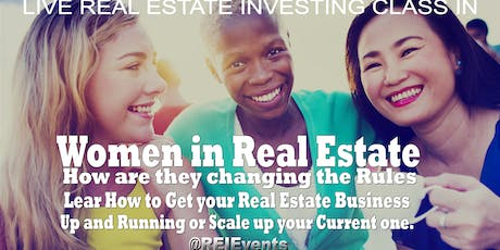 Atlanta Real Estate Women Investing Webinar Orientation  tickets