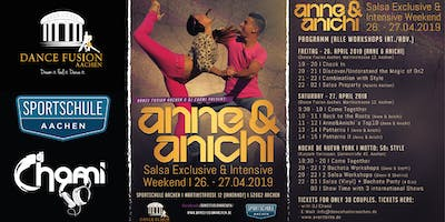 Salsa Exclusive & Intensive Weekend  with Anne & Anichi - Aachen