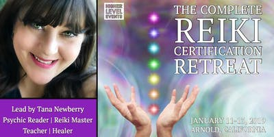Retreat: The Complete Reiki Certification (Intensive Courses, Powerful Attunements and Immersive Hands-on Experience)