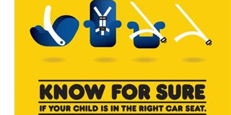 Weekly Child Safety Seat Checks tickets