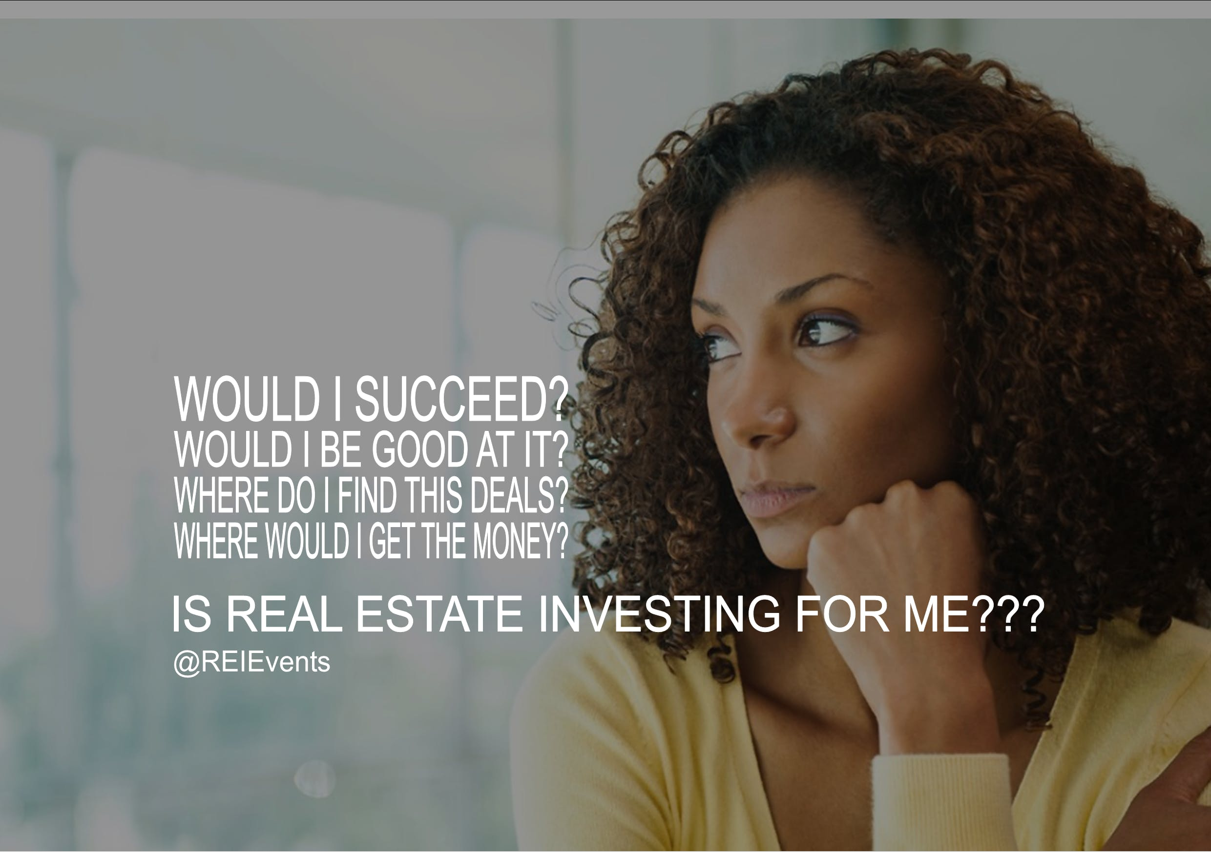Is Real Estate Investing For ME??? FREE Webinar