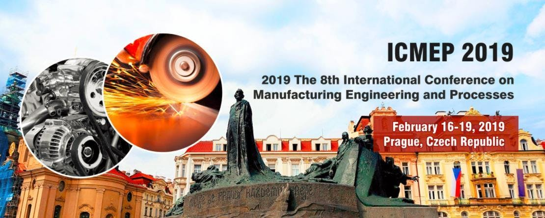 8th International Conference on Manufacturing