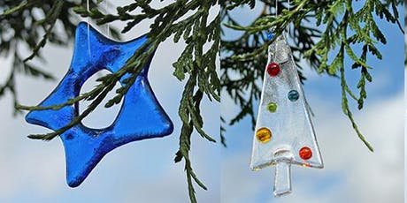 fused glass christmas decorations workshop tickets - Glass Christmas Decorations