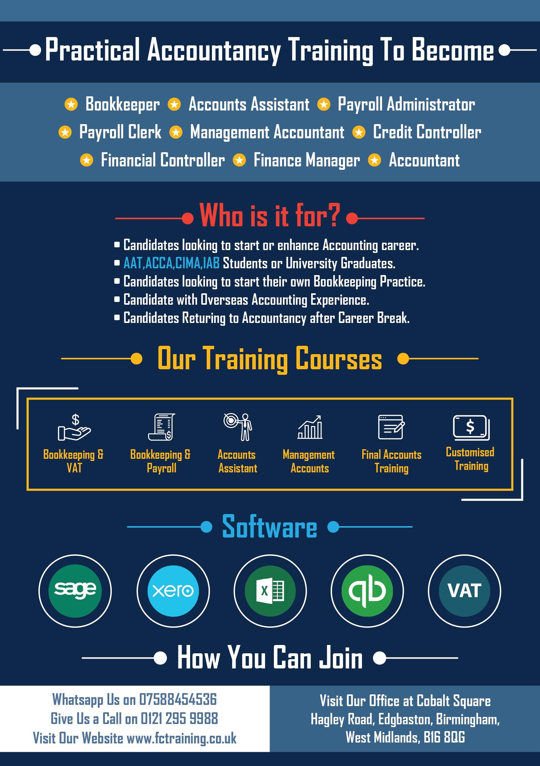 Sage Practical Training / Sage 50 / XERO Trai