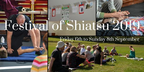 Festival Of Shiatsu 2019 tickets