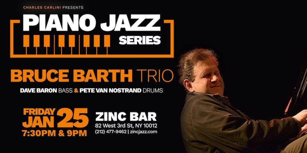 Bruce Barth Trio at Zinc Bar
