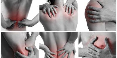 Wirbelsäulenscan und Anwendung mit spezieller Therapieliege